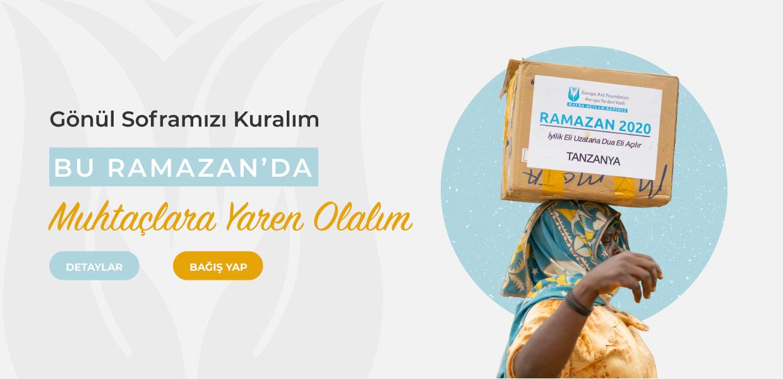 ramazan yardımı projesi - avrupa yardım vakfı