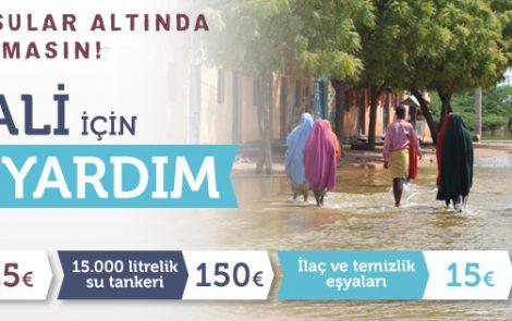 Somali'de Sel Felaketi: Yüzbinlerce Kişi Yardıma Muhtaç Durumda