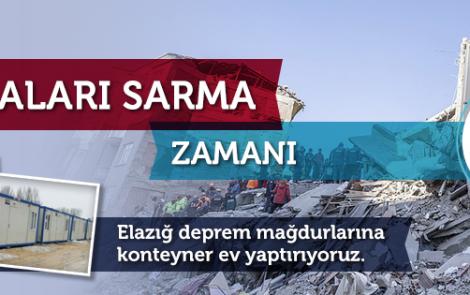 Elazığ'da Deprem Felaketi: Şimdi Yaraları Sarma Zamanı