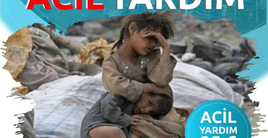Lübnan için acil yardım