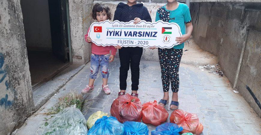 Gazze için acil Yardım
