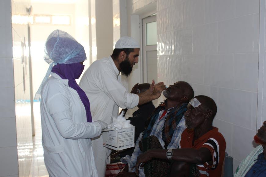 afrika katarakt yardımı