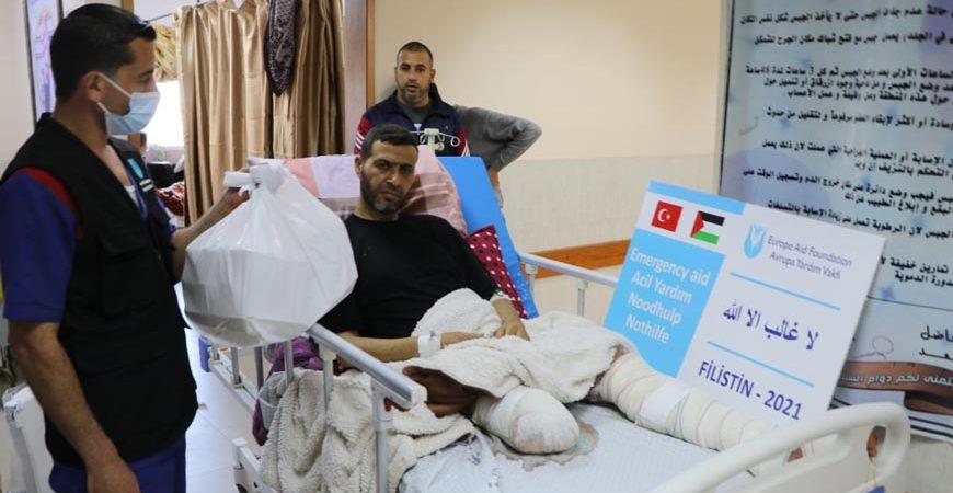 Filistin ilaç ve gıda yardımı