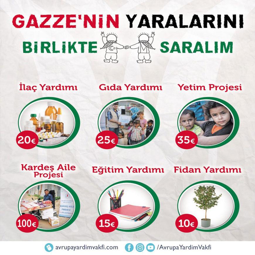 gazze acil yardım - filistin acil yardım - gazze yardım kampanyası - filistin'e yardım kampanyası