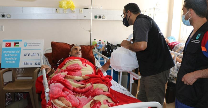 Gazze'ye yardımlar