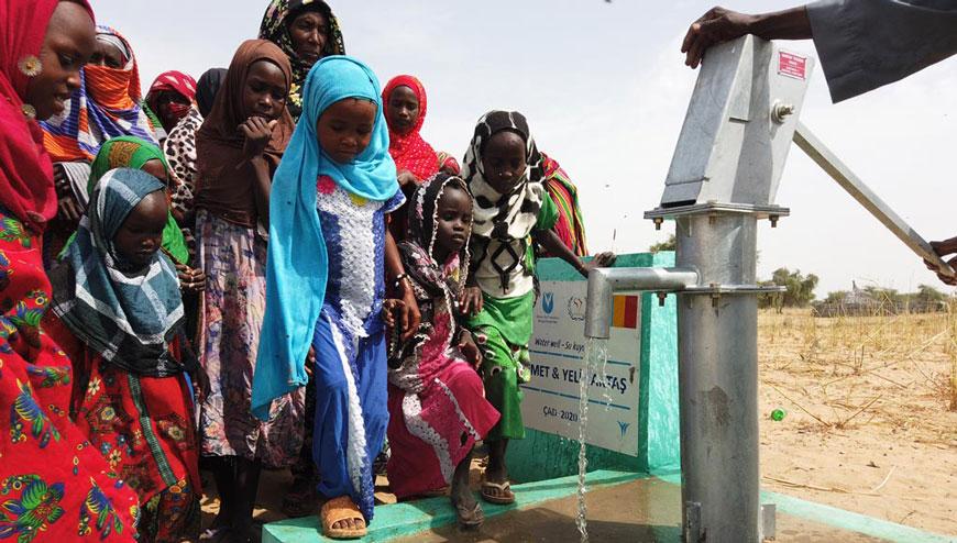 Afrika Çad'da Su Kuyusu Açtırma