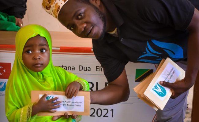 Yetimlere yardım kapsamındaki Tanzanya yetim sponsorluk projemiz