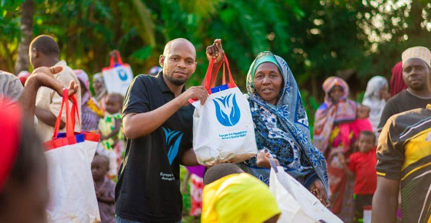 Afrika kurban bağışı dağıtımı