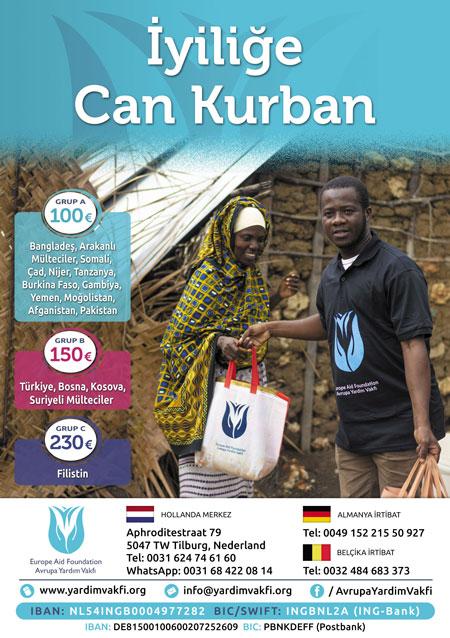 yurtdışı kurban bağışı ve kurban yardımı