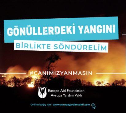 Türkiye'deki Yangın İçin Acil Yardım Kampanyası