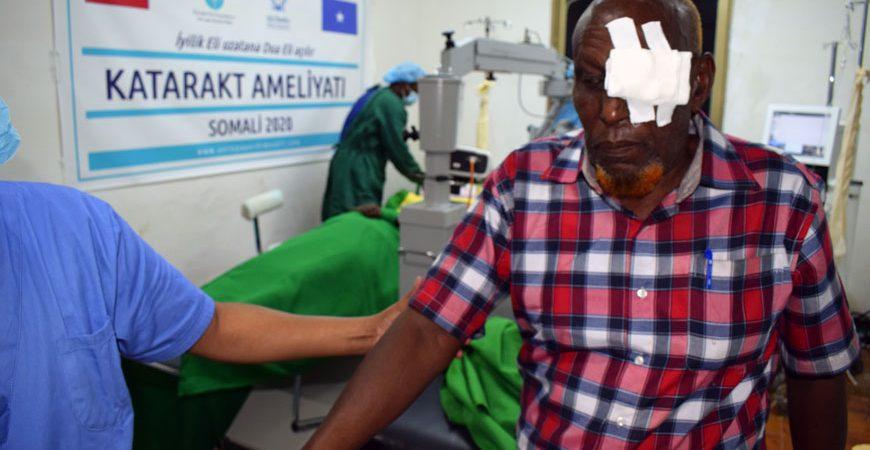 afrika katarakt ameliyatı yardımı ve bağışı