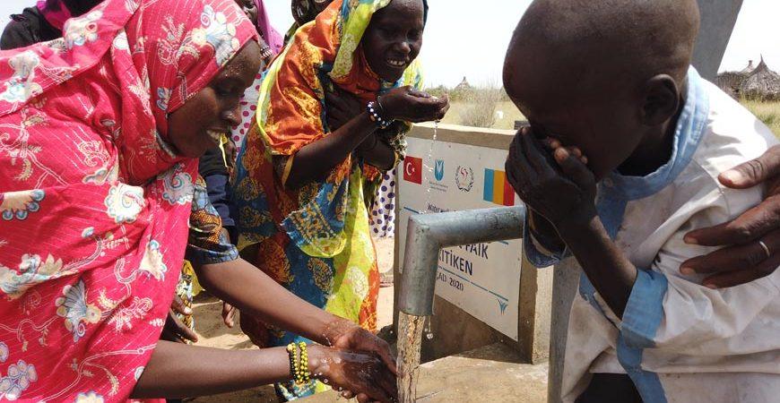 Çad'da Su Kuyusu Açtırmak