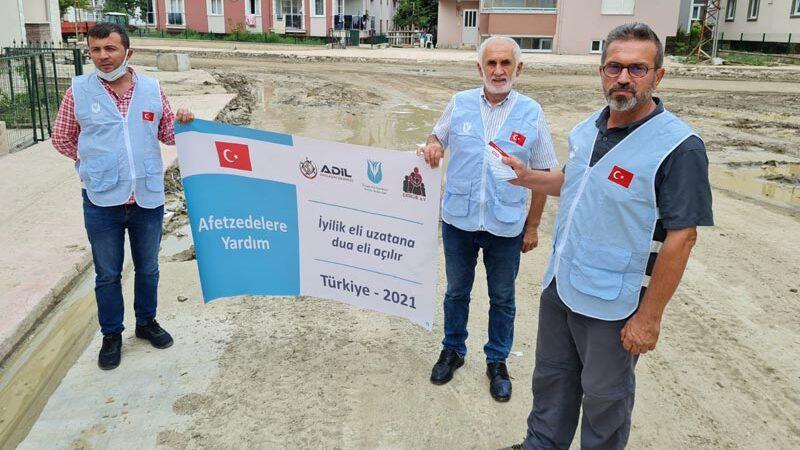 Afetzedelere Gıda Yardımı - Avrupa Yardım Vakfı