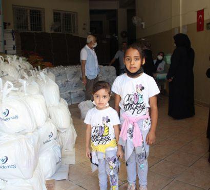 Gaziantep'teki Yetimlerimize Yardımlarımızı Ulaştırdık