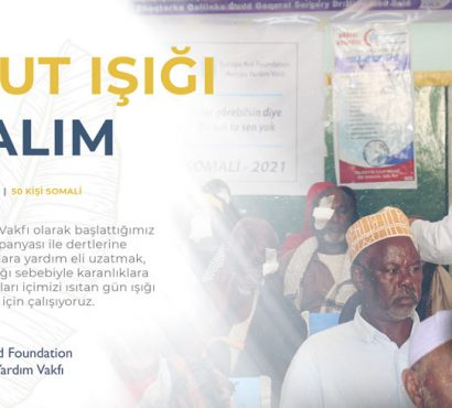 Afganistan ve Somali'ye Katarakt Ameliyatı Yardım Kampanyası